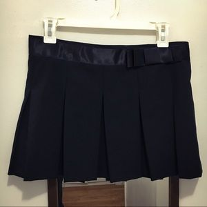 🌹Satin Bow Pleated Mini Skirt BOGO50%